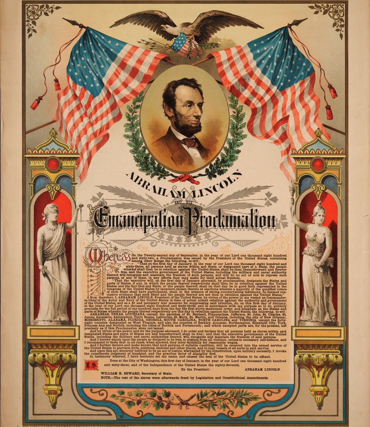 the controversies and impact of the emancipation proclamation in the unites states Advanced placement united states portfolios that require analysis of the societal impact of key appomattox, emancipation proclamation.